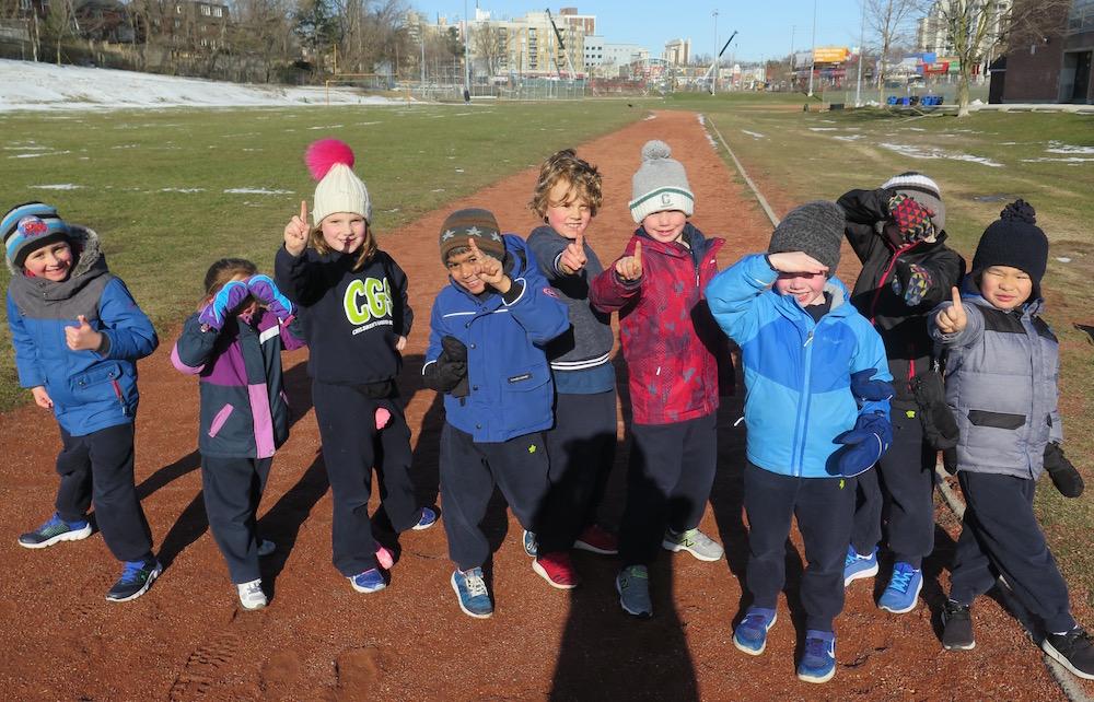 Track & Field Fridays | Children's Garden School