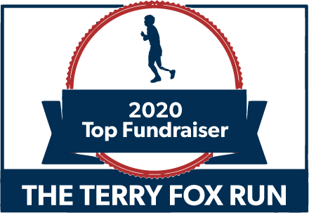 The Terry Fox Run 2020 Top Fundraiser