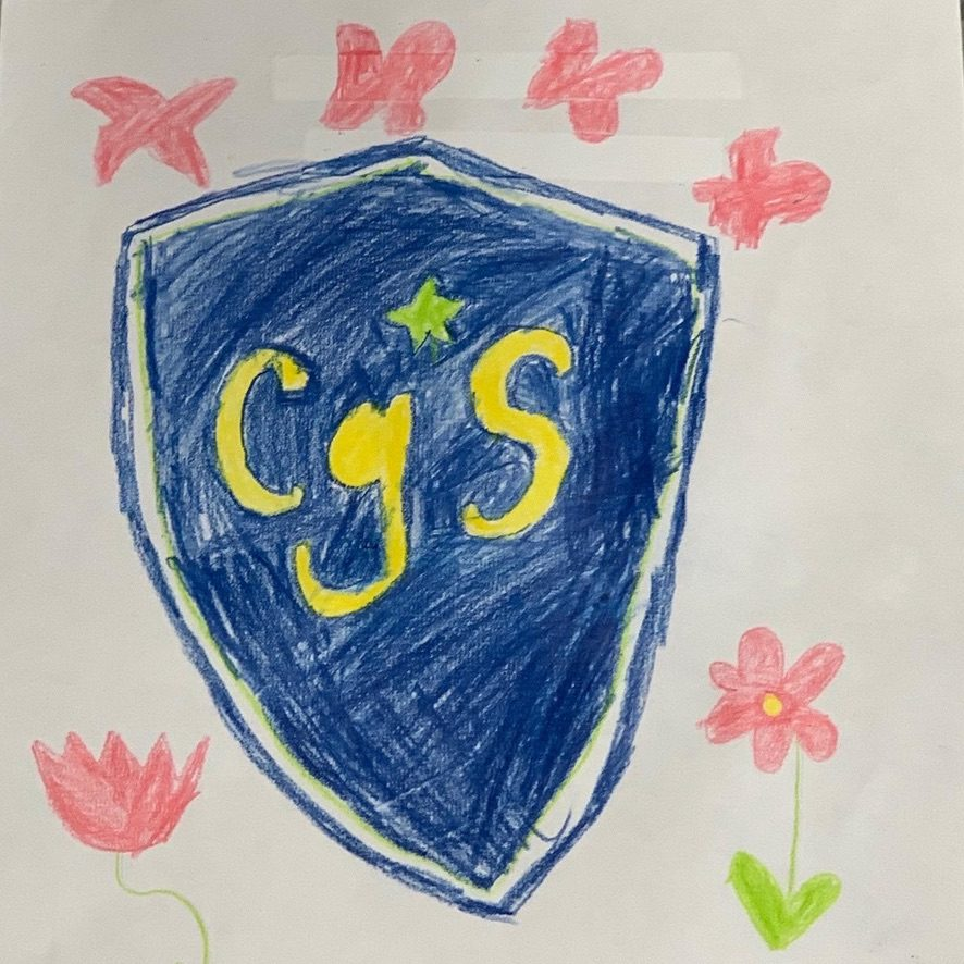 Child's drawing of CGS Crest